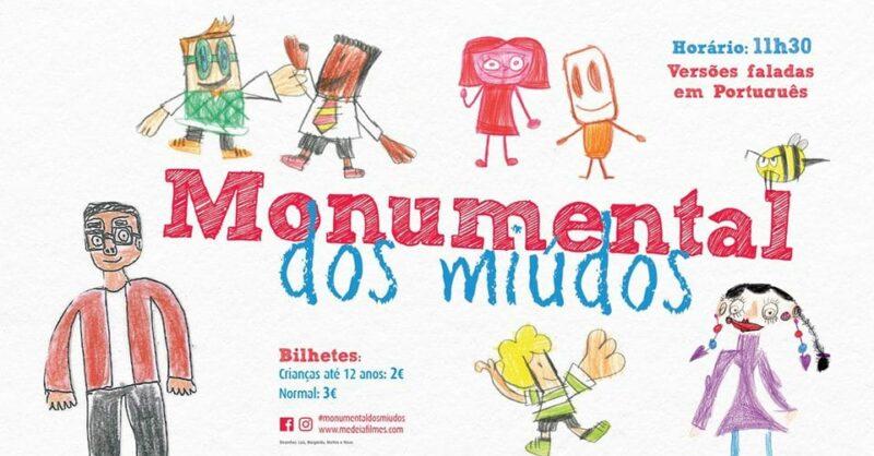 Monumental dos Miúdos: Nova Programação a partir de Maio 2018