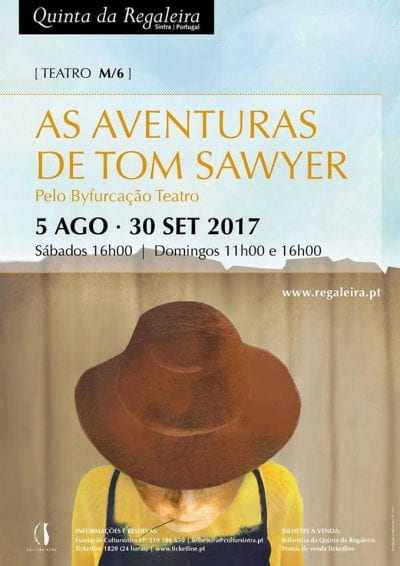 As Aventuras de Tom Sawyer na Quinta da Regaleira - Cartaz