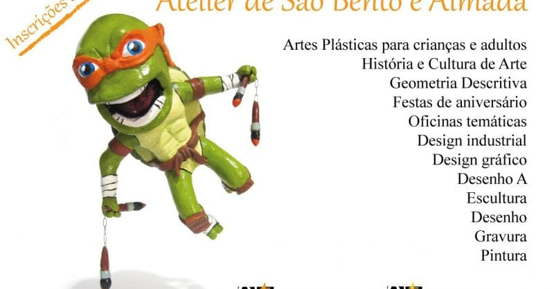 Aulas anuais de Artes- Atelier de São Bento e Atelier de Almada