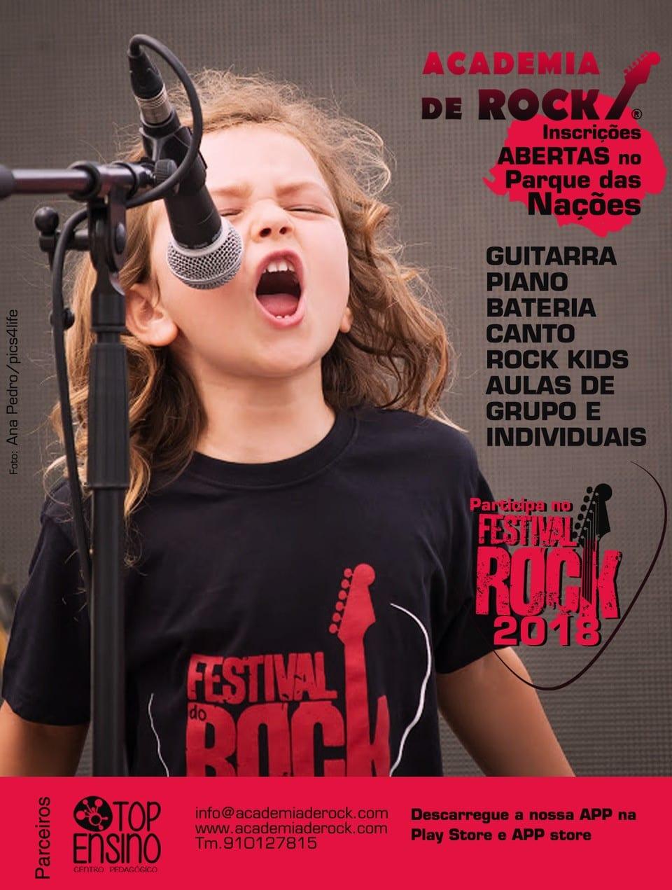 Arranque das aulas na Academia de Rock_Parque das Nações
