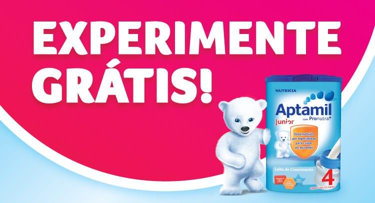 Aptamil Junior 4 - Experimente grátis