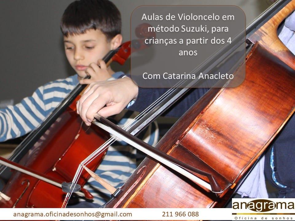 Aulas de violoncelo