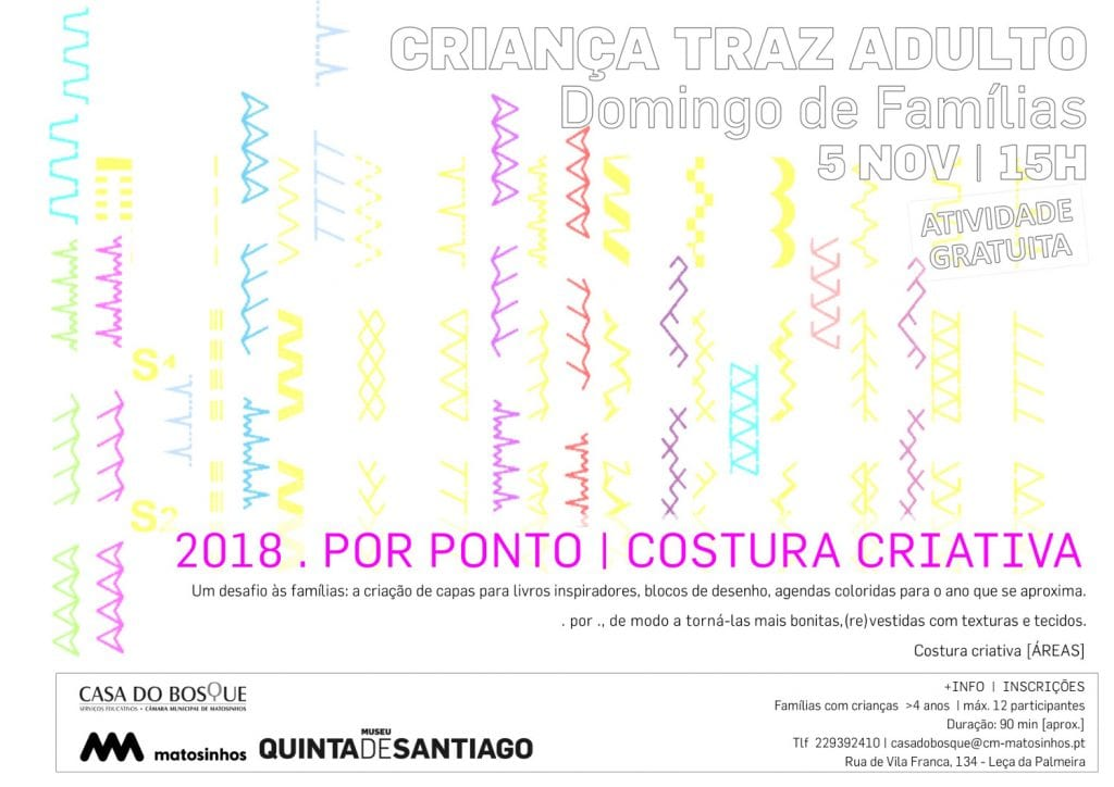 2018 .POR PONTO – COSTURA CRIATIVA