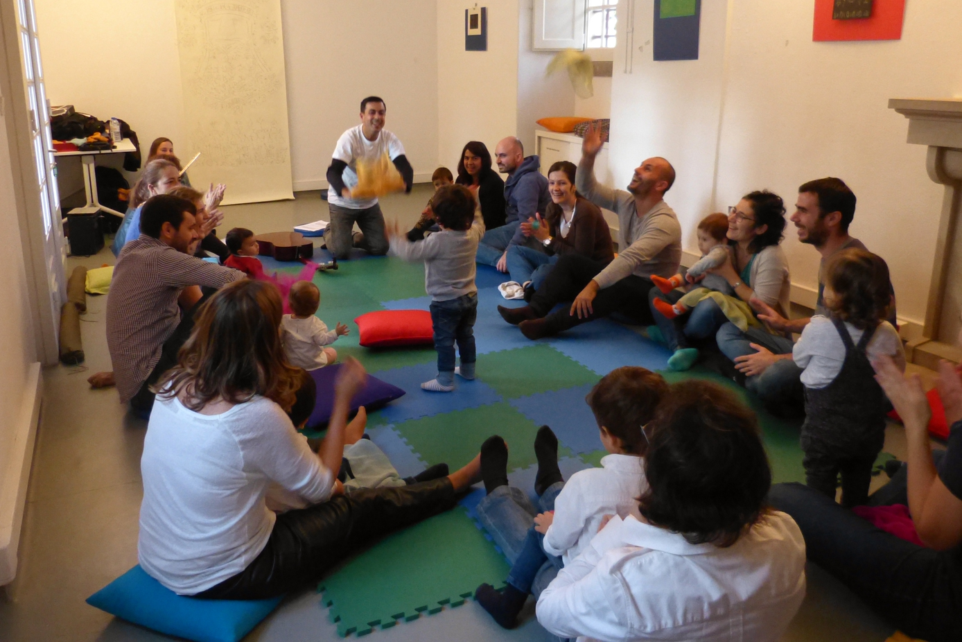 Música para Bebés na Biblioteca de Belém