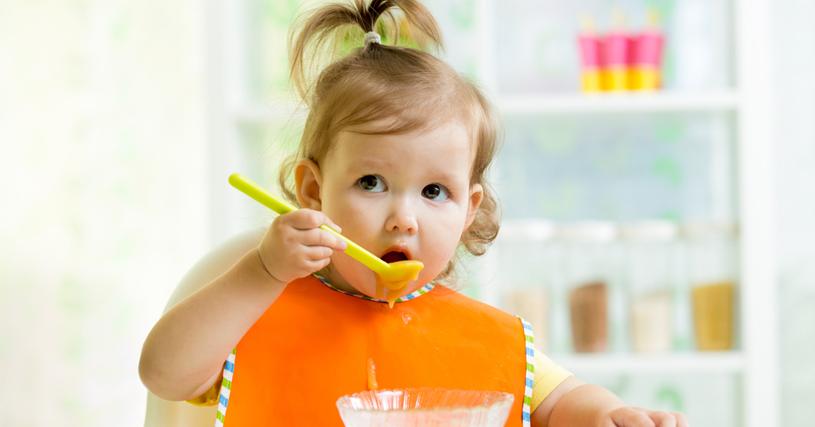 alimentação de um bebé de 1 ano
