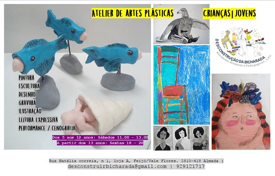 Atelier de Artes Plásticas – Crianças | Jovens
