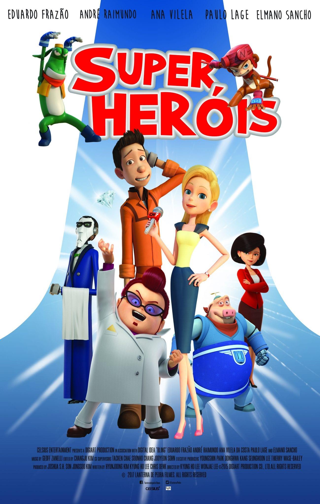 Passatempo Filme: Bling - Super-heróis