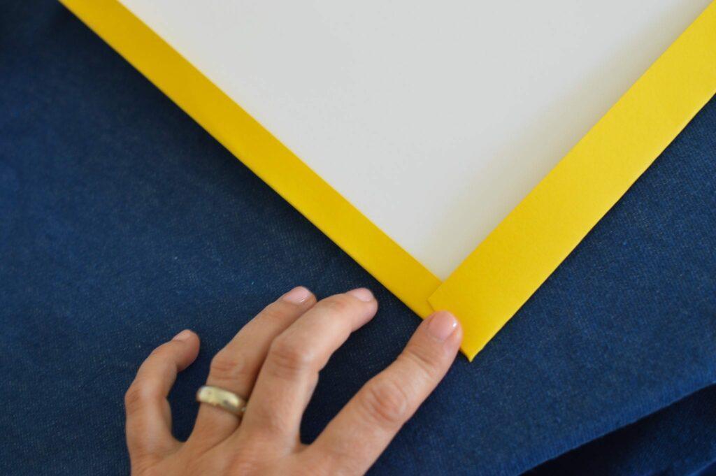DIY caderno escolar sem argolas