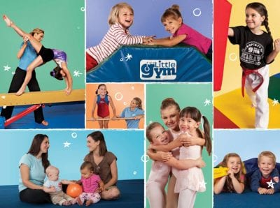 SUPER AULAS DE GINÁSTICA E DANÇA NO THE LITTLE GYM