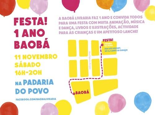 FESTA! 1 ANO DE BAOBÁ