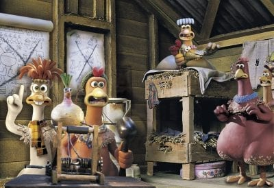 Sessão de Cinema CHICKEN RUN | A Fuga das Galinhas