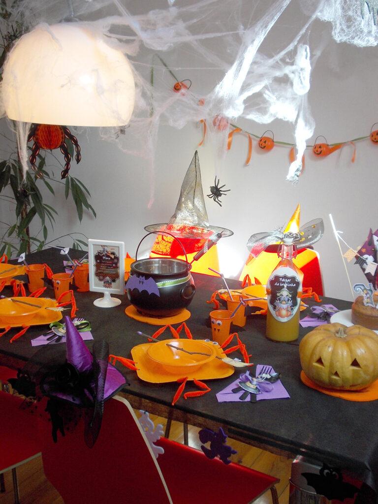 Decoração de Halloween - Close