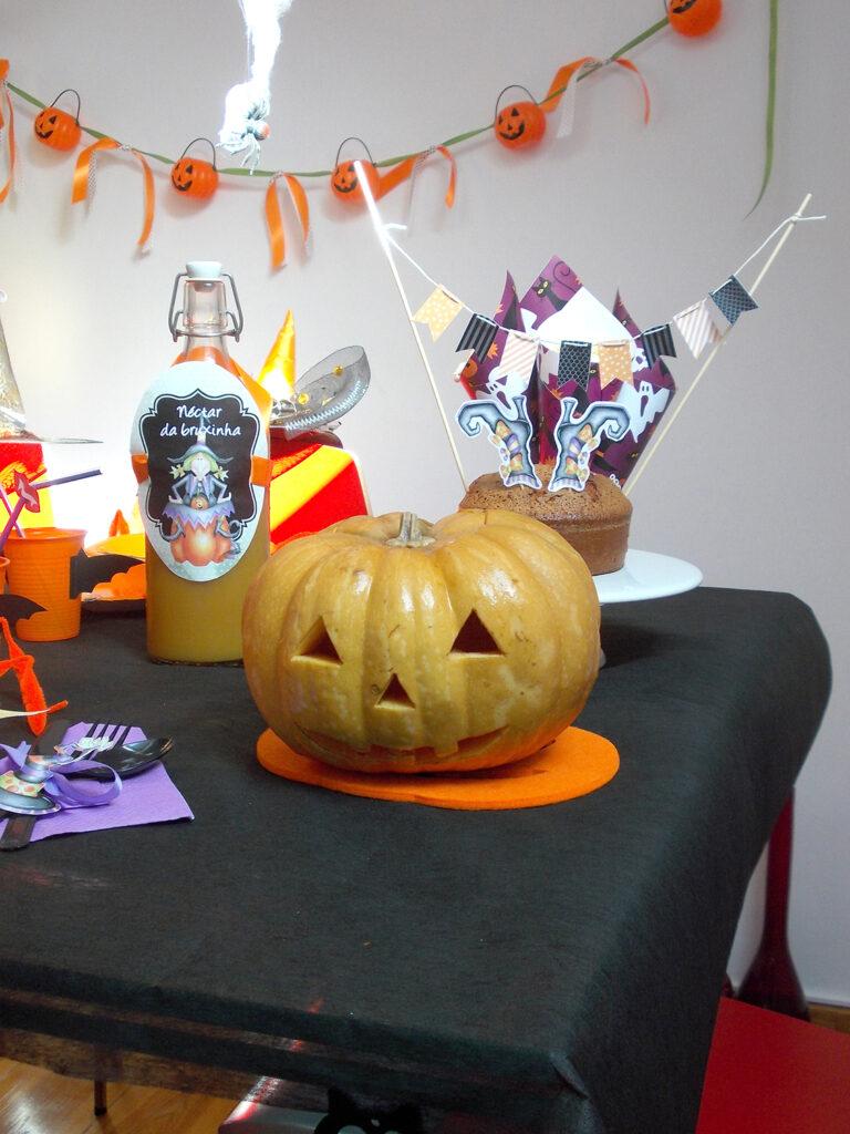 Decoração de Halloween - Abobora