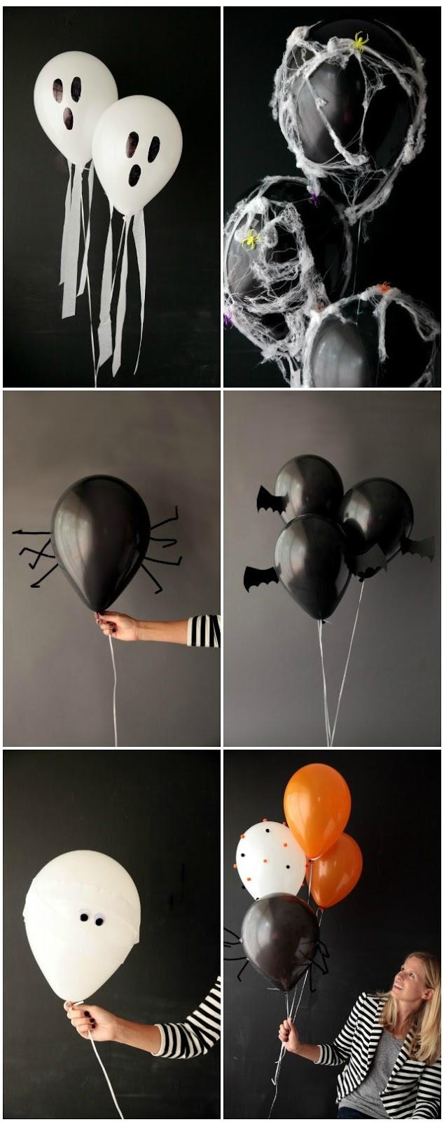 Halloween-Balões