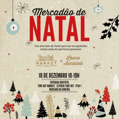 Mercado de Natal no Time Out Market