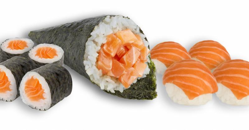 Noori Sushi: olha o hosomaki para o menino e para a menina!