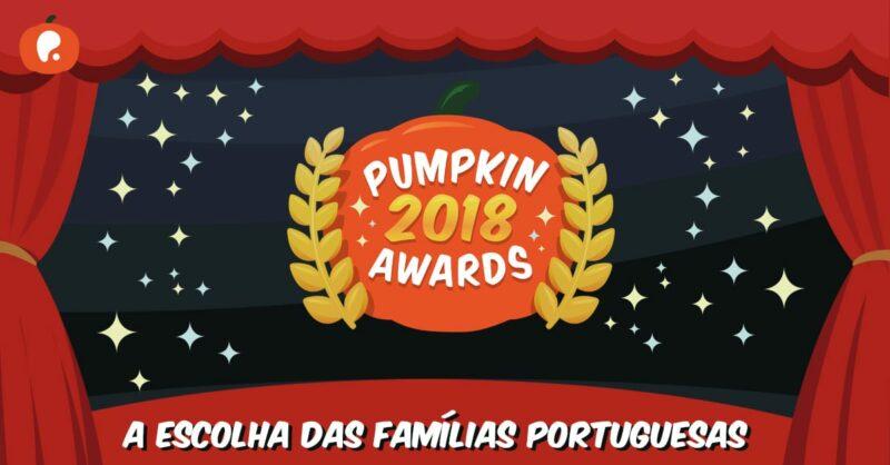 Pumpkin Awards: As famílias portuguesas escolhem os melhores de Portugal | 2018
