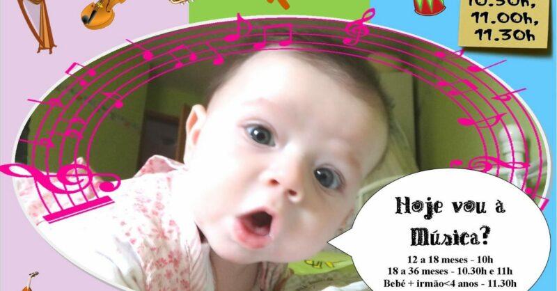 Hoje vou à Música – Música para Bebés