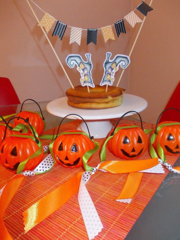 Decoração de Halloween - Bandeirola