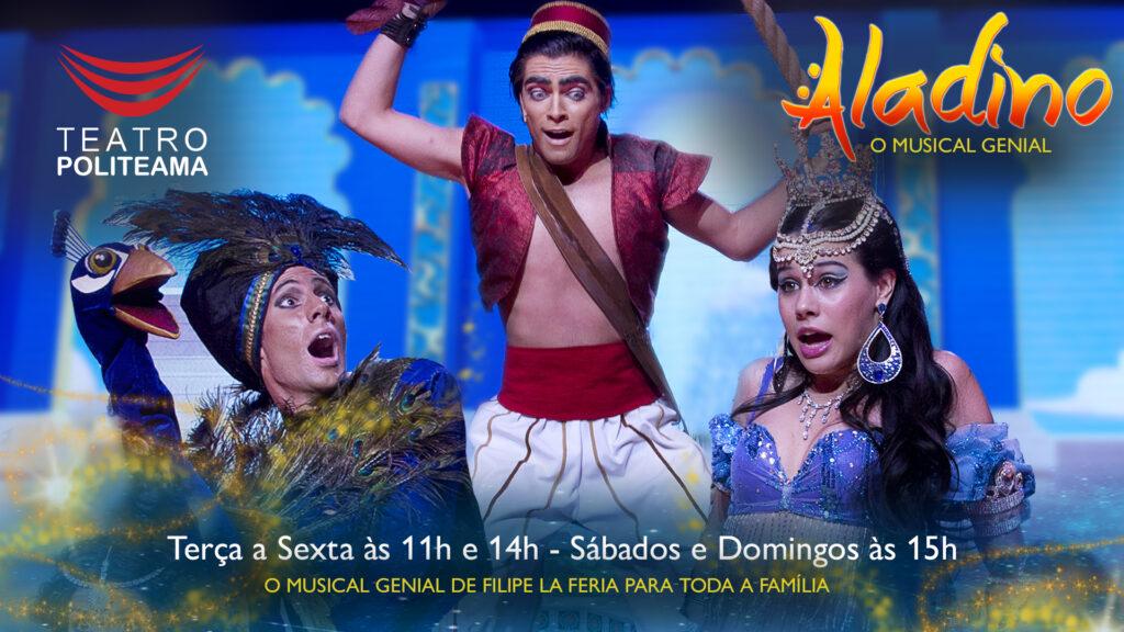 Aladino - O Musical Genial é o novo Espectáculo de Filipe La Féria