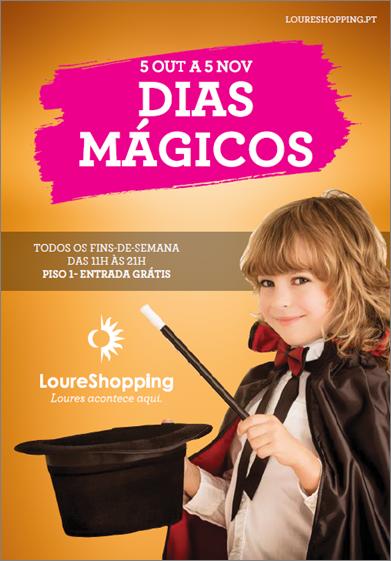 Espetáculo de magia no LoureShopping desvenda os truques de ilusionismo