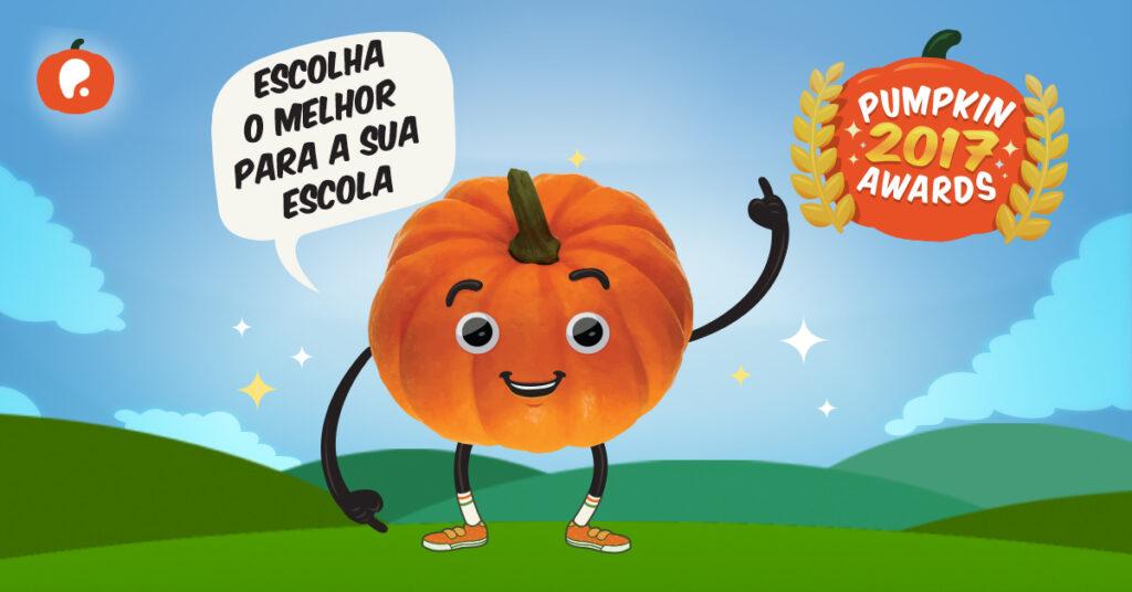 Pumpkin Awards Escolas Nomeação