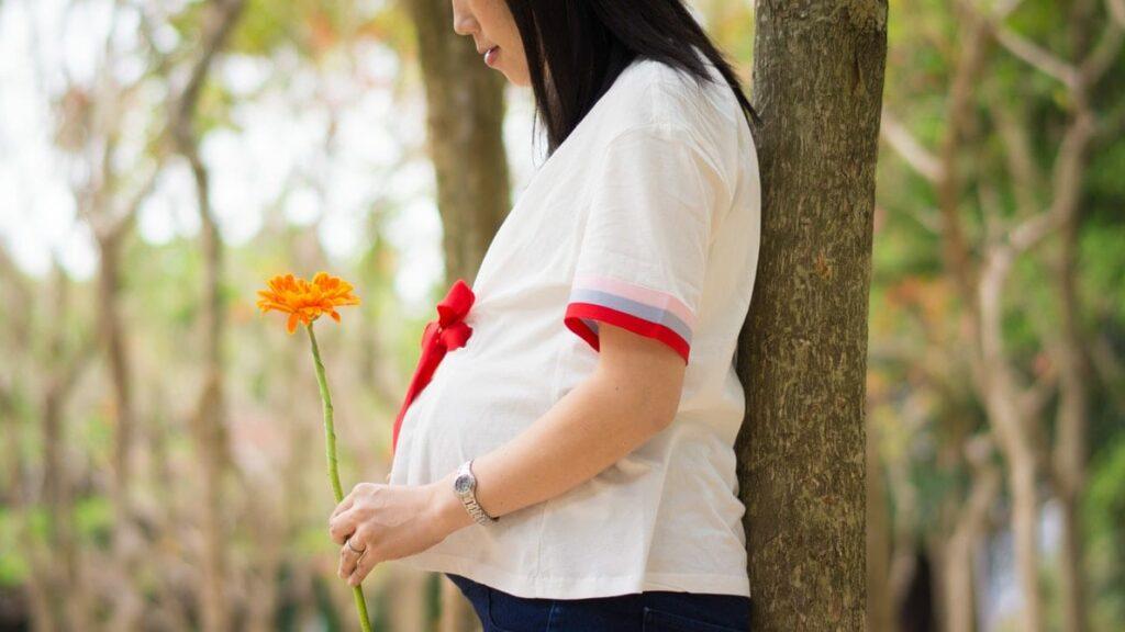 enjoos na gravidez - mulher grávida