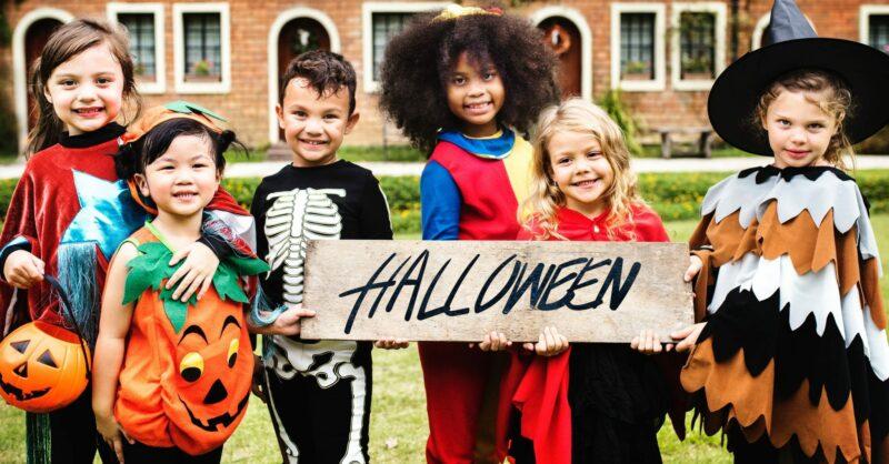 Festas assustadoras para celebrar o Halloween com crianças e em família