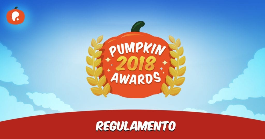 Pumpkin Awards 2018 Regulamento