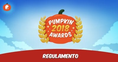 Pumpkin Awards 2018 Regulamento