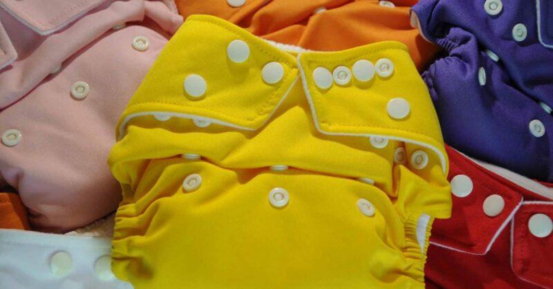 Como escolher entre os diferentes tipos de fraldas reutilizáveis