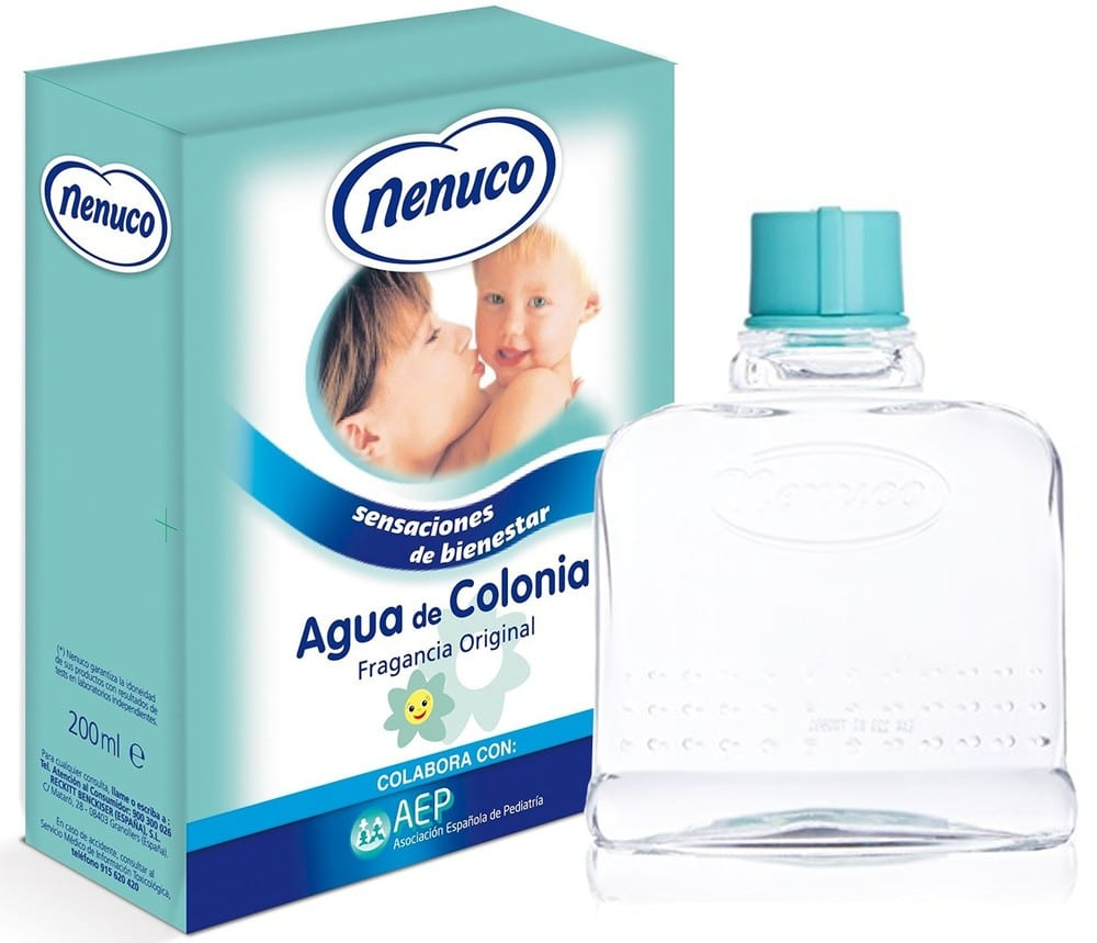água de colónia nenuco