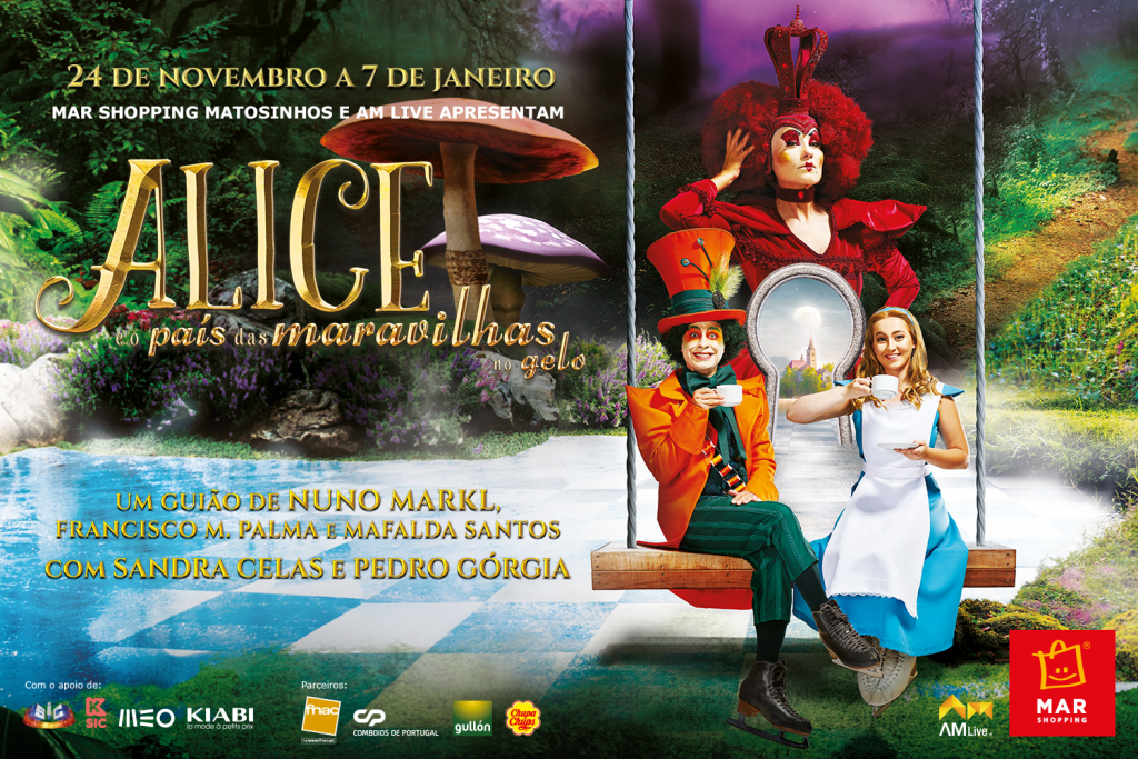 Alice País Maravilhas MAR Shopping