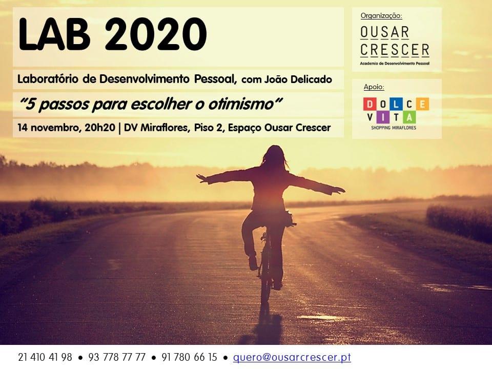 LAB 2020 - Laboratório de Desenvolvimento Pessoal | 14 de Novembro
