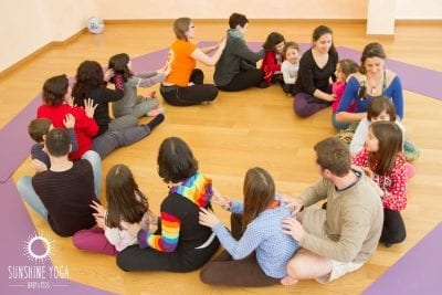 Aulas Yoga Kids