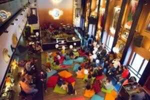 Concertos para crianças Hard Rock Café Sala
