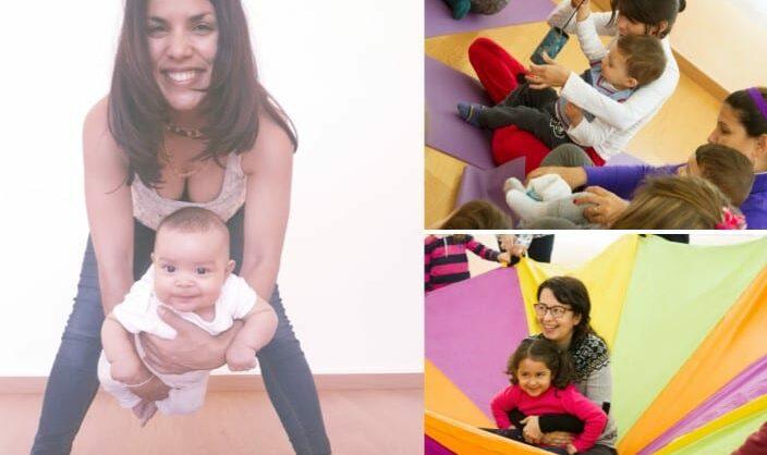 Aulas de Yoga Baby