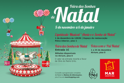 Natal MAR Shopping Matosinhos