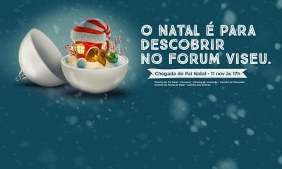 Natal no Forum Viseu