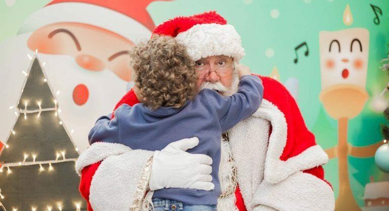 Pai Natal no Alegro Alfragide