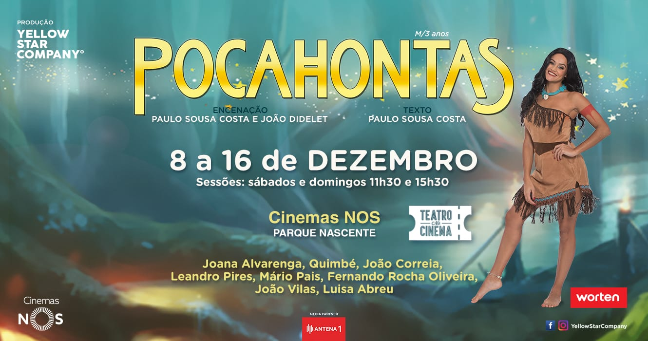 Pocahontas Yellow Star Porto