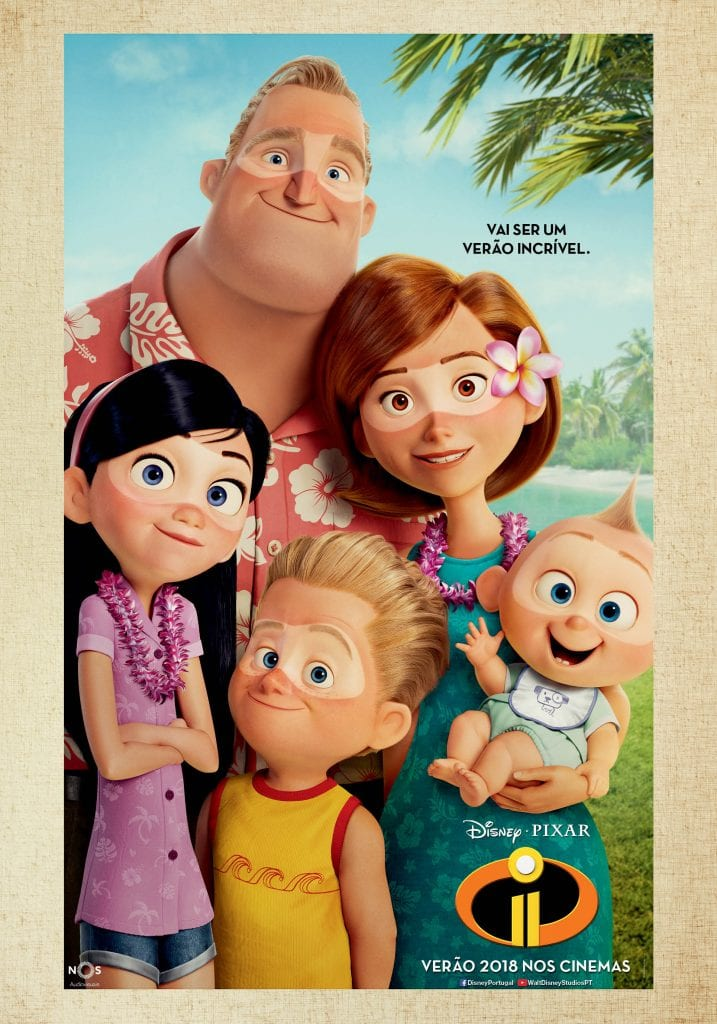 Poster Verão THE INCREDIBLES 2