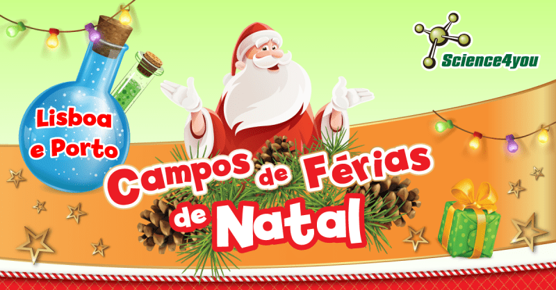 Férias de Natal da Science4you
