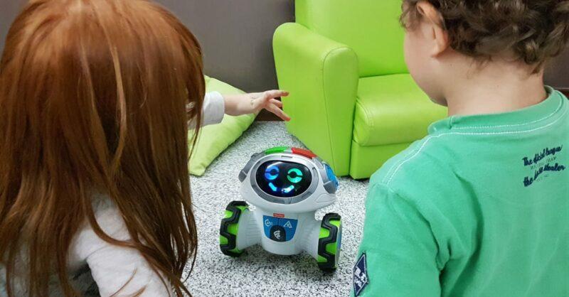 A Pumpkin Experimenta: Robô Movi