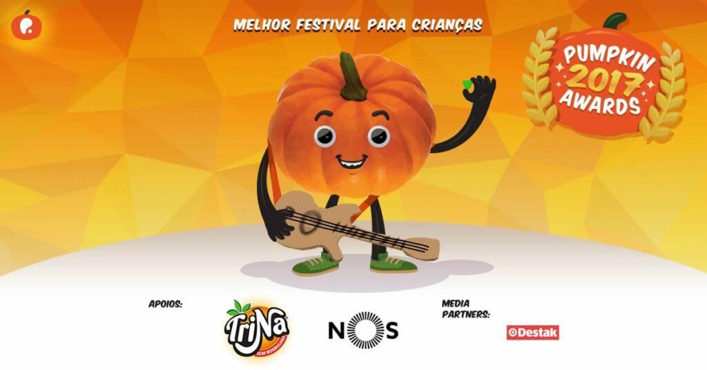Vote no melhor festival para crianças nos Pumpkin Awards 2017