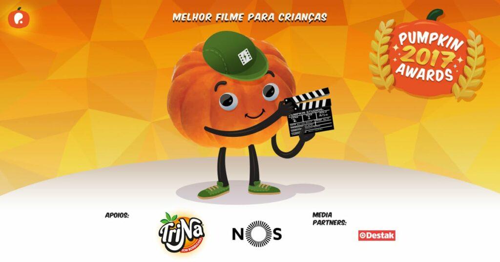 Vote no melhor filme para crianças nos Pumpkin Awards 2017