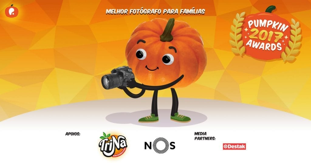 Vote no melhor fotografo para crianças e famílias nos Pumpkin Awards 2017