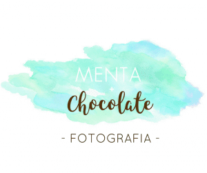 menta mais chocolate fotografia
