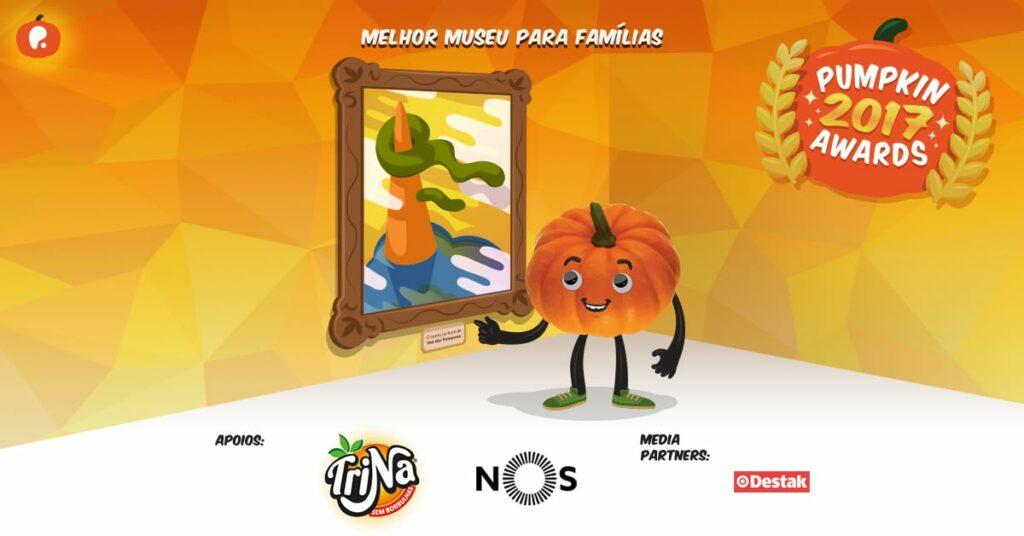 Vote no melhor Museu para famílias nos Pumpkin Awards 2017