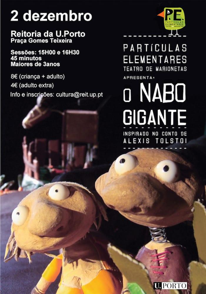 O Nabo Gigante | Espetáculo de Marionetas